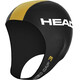 HEAD Neo Swim Cap Black (BK)/Gold (GO)